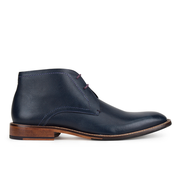 Ted Baker Men's Torsdi 4 Leather Desert Boots - Dark Blue: Image 1