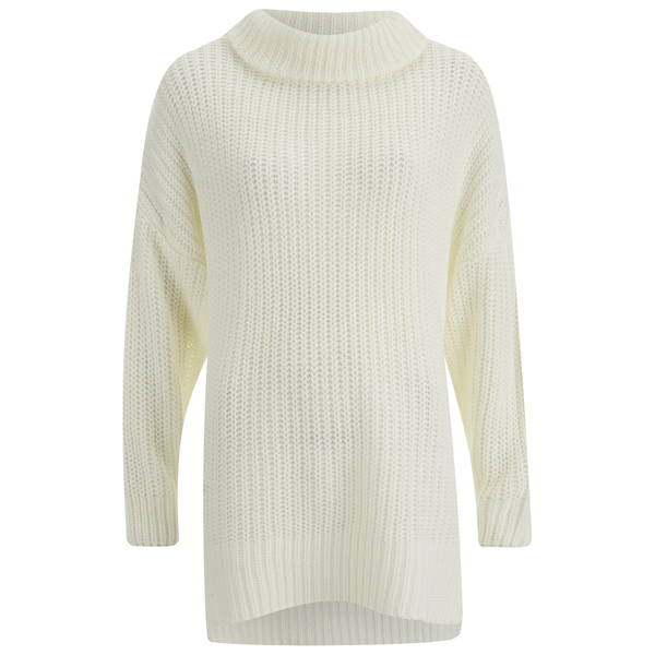 The Fifth Label Women's In Your Mind Knit Jumper Dress- Ivory