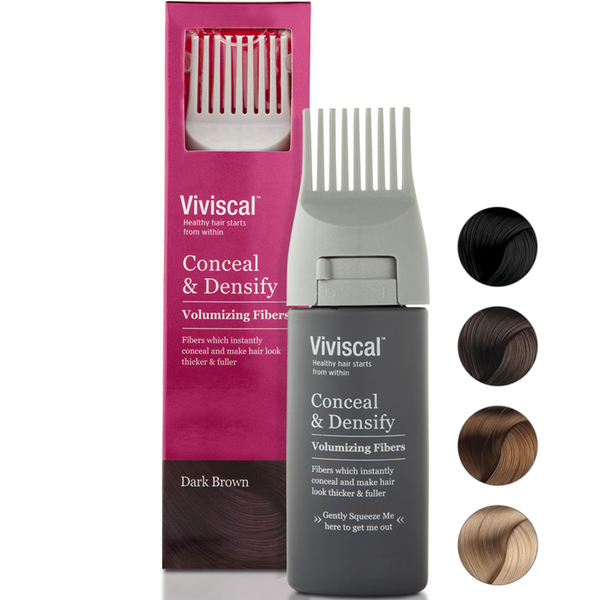 Viviscal Hair Thickening Fibres for Women, Castaño oscuro