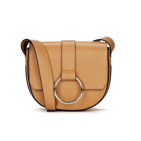 Coccinelle Women's Linea Crossbody Bag - Light Tan