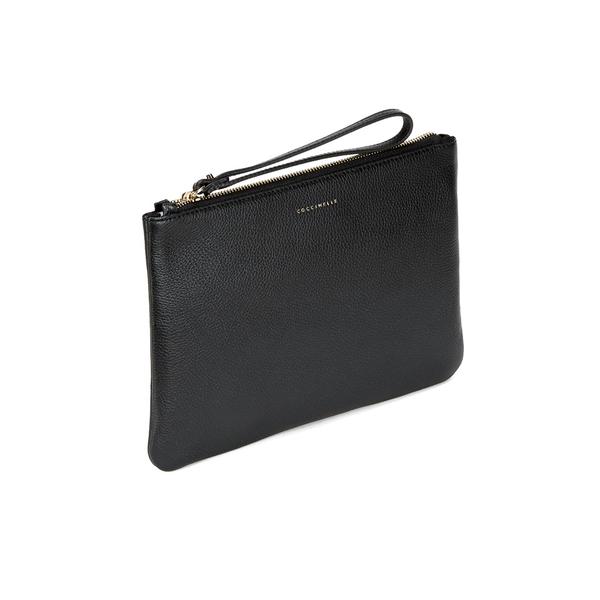 Coccinelle Women's Buste Leather Clutch Bag - Black: Image 2