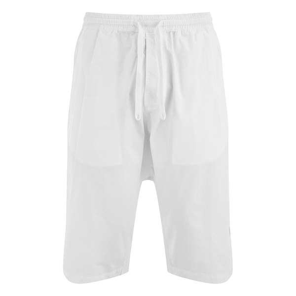 Maharishi Men's Summer Long Shorts - Optic White