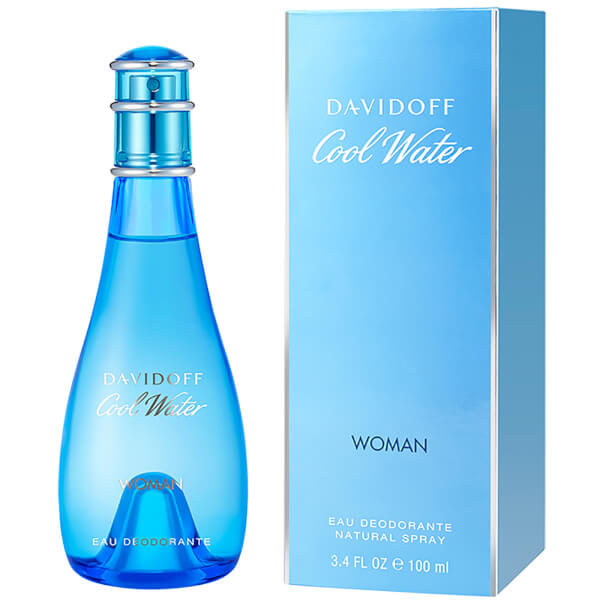 Déodorant pour Femme Davidoff Cool Water(100ml)