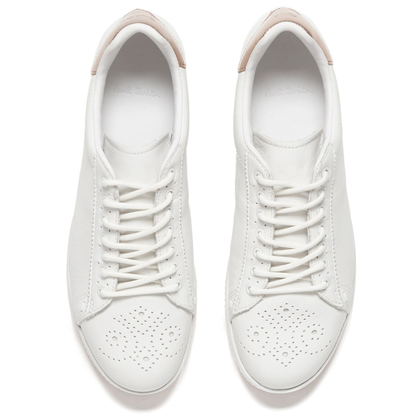 f0fcc9087a6 Paul Smith Shoes Women s Rabbit Leather Trainers - White Mono Lux  Image 2