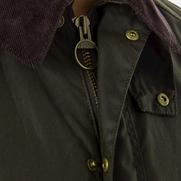 Barbour Men S Ashby Wax Jacket Olive Free Uk Delivery Over 50