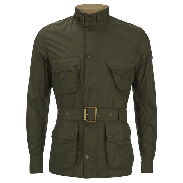 Barbour International Men's Nylon Jacket - Fern