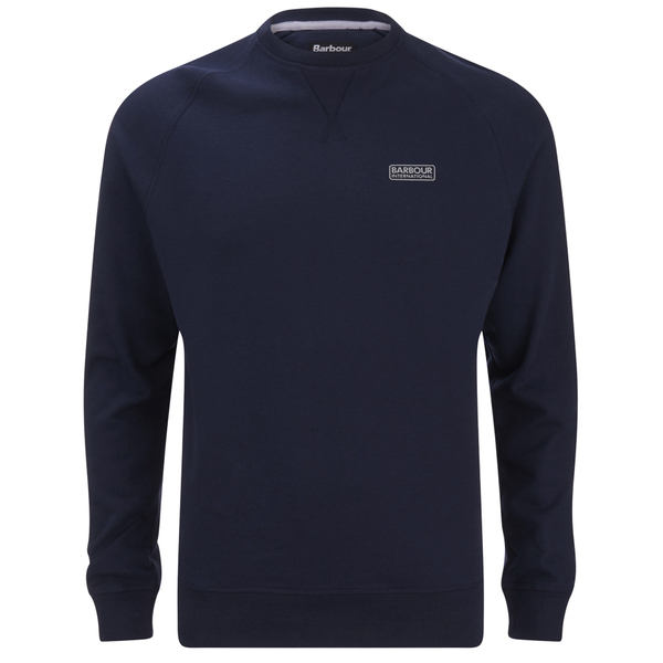 Barbour International Men's Small Logo Sweatshirt - Navy