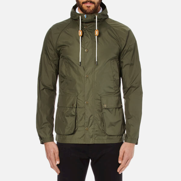 Barbour Men's Hooded Bedale Jacket - Fern