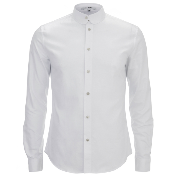 Carven Men's Long Sleeve Shirt - White