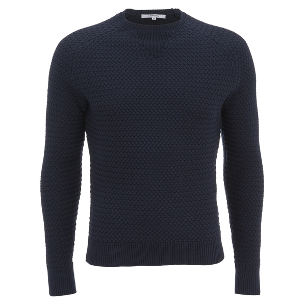Carven Men's Pull Crew Neck Knit - Marine