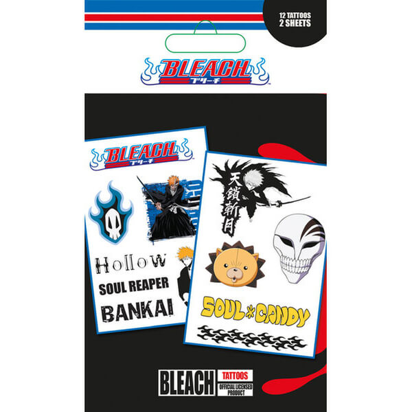 Bleach Mix - Tattoo Pack