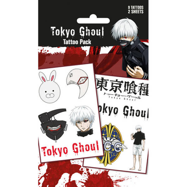 Tokyo Ghoul Mix - Tattoo Pack