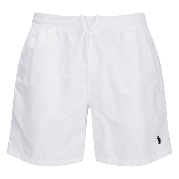 Polo Ralph Lauren Men's Hawaiian Swim Shorts - White: Image 1