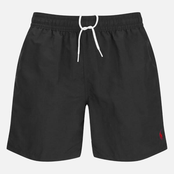 Polo Ralph Lauren Men's Hawaiian Swim Shorts - Polo Black