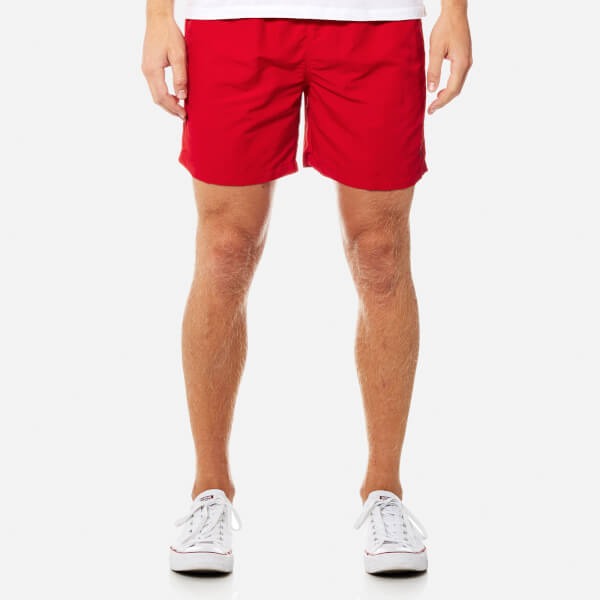 Polo Ralph Lauren Men's Hawaiian Swim Shorts - Red