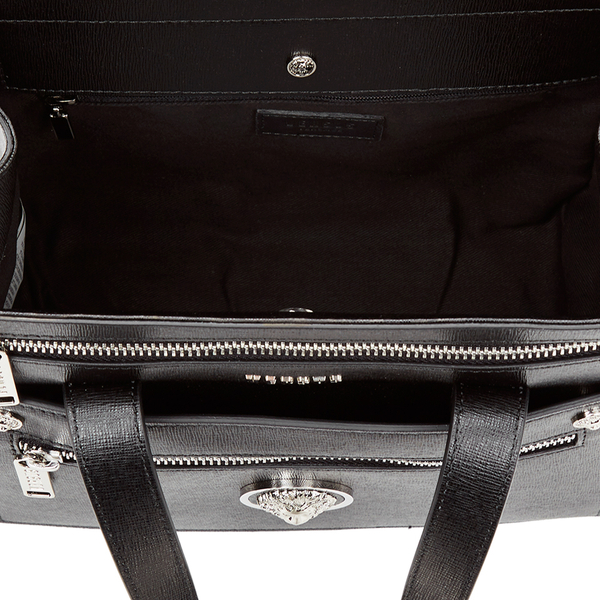 1dd94bb192 Versus Versace Women s Front Pocket Removable Clutch Tote Bag - Black   Image 4