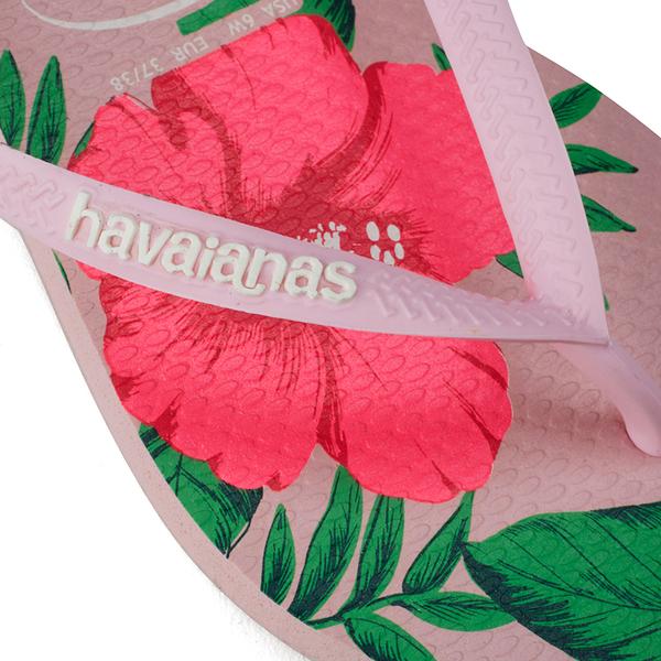 927d2d1ee Havaianas Women s Slim Floral Flip Flops - Crystal Rose  Image 4