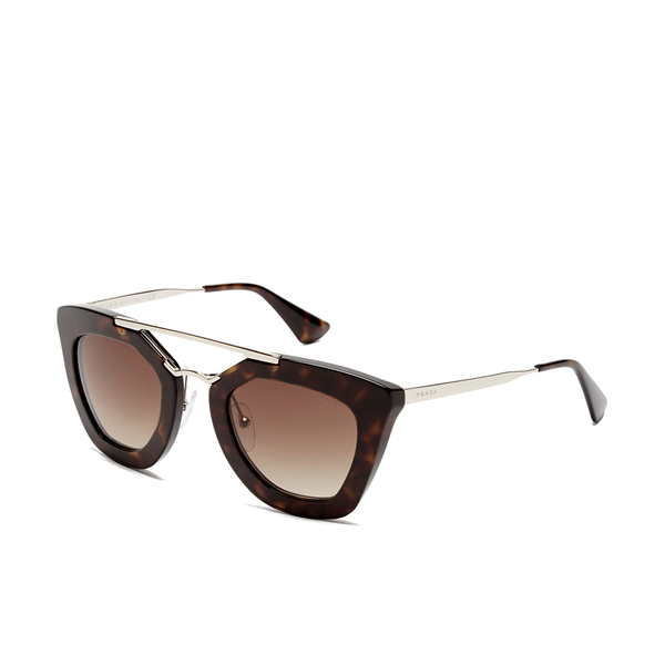 acf0a4c8b70e purchase prada womens catwalk cinema sunglasses havana image 2 696f3 c00ac
