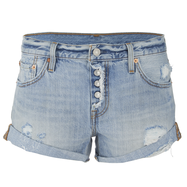 Levi's Women's Custom Roll Hem 501 Shorts - Country Road