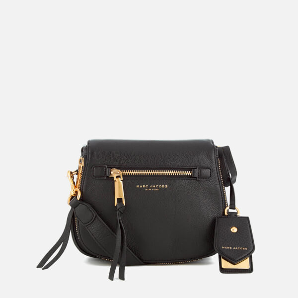 Marc Jacobs Women S Recruit Small Saddle Bag Black Image 1