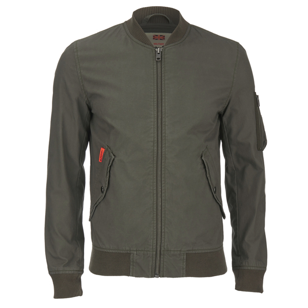 Superdry Men's Rookie Drone Bomber Jacket - Cargo Green: Image 1