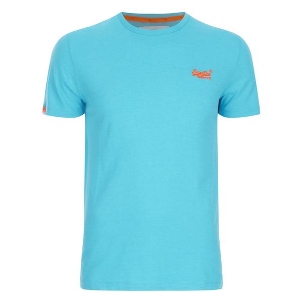 superdry men 39 s orange label vintage hyper pop t shirt cuba blue. Black Bedroom Furniture Sets. Home Design Ideas