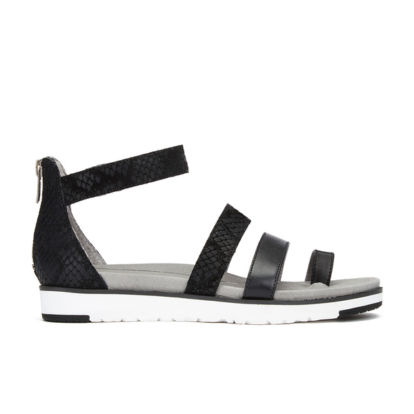 UGG Women's Zina Gladiator Sandals - Black