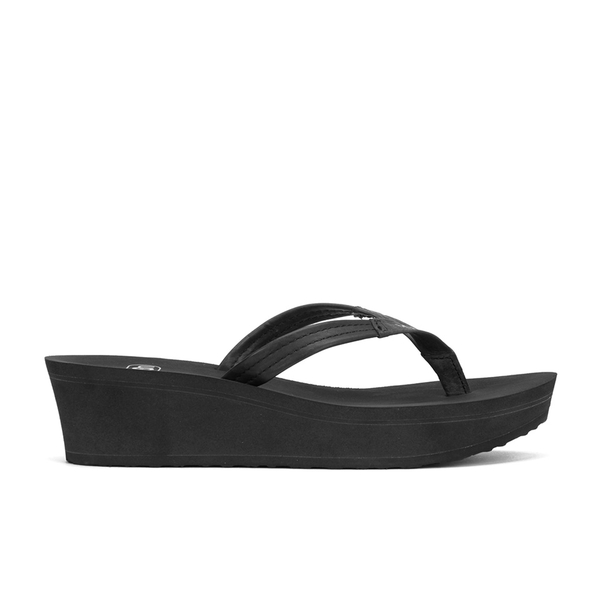 165929bf4767 UGG Women s Ruby Wedged Sandals - Black - Free UK Delivery over £50