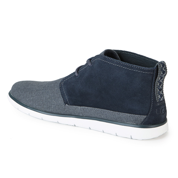 UGG Men's Freamon Canvas/Suede 2-Eyelet Chukka Boots - Imperial: Image 4
