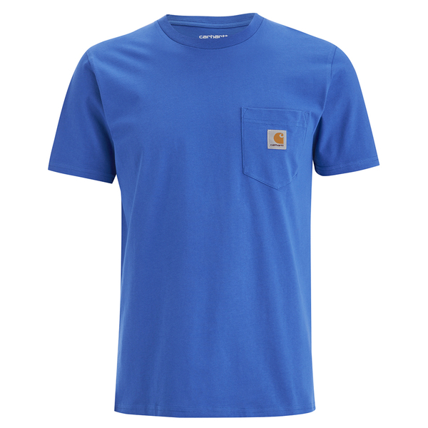 Carhartt Men's Short Sleeve Pocket T-Shirt - Dolphin