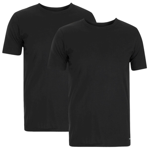 Carhartt Men's Standard Crew Neck T-Shirt (Two Pack) - Black/Black