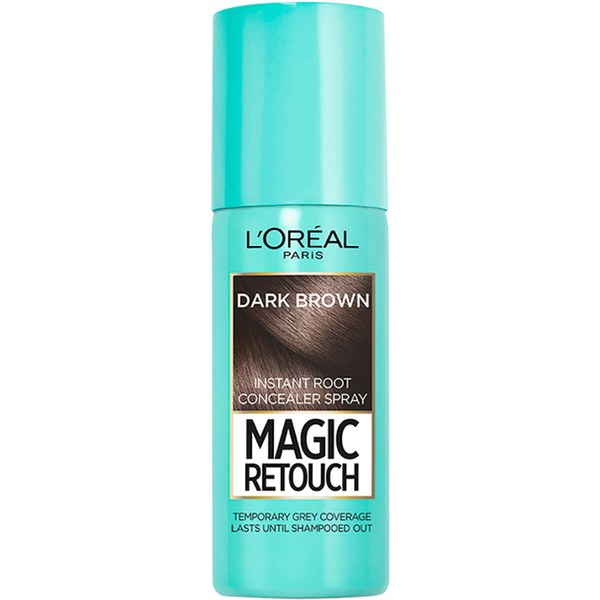 L'Oréal Paris Magic Retouch Instant Root Concealer Spray - Brown (75ml)