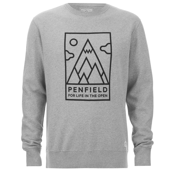 Penfield Men's Peaks Sweatshirt - Grey