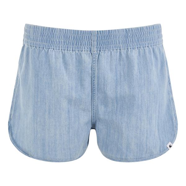Carhartt Women's Danny Shorts - Blue Super Bleached