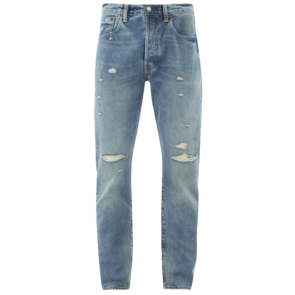 Levi's Men's 501 Customised & Tapered Jeans - Dirty Dawn
