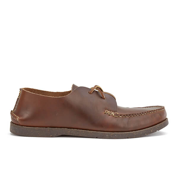 Yuketen Men's Leather Oxford Shoes - Brown