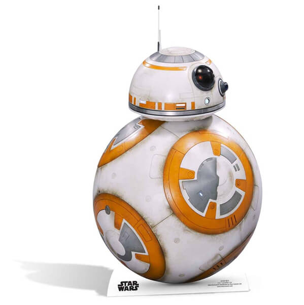 Star Wars The Force Awakens BB-8 Life Size Cut Out