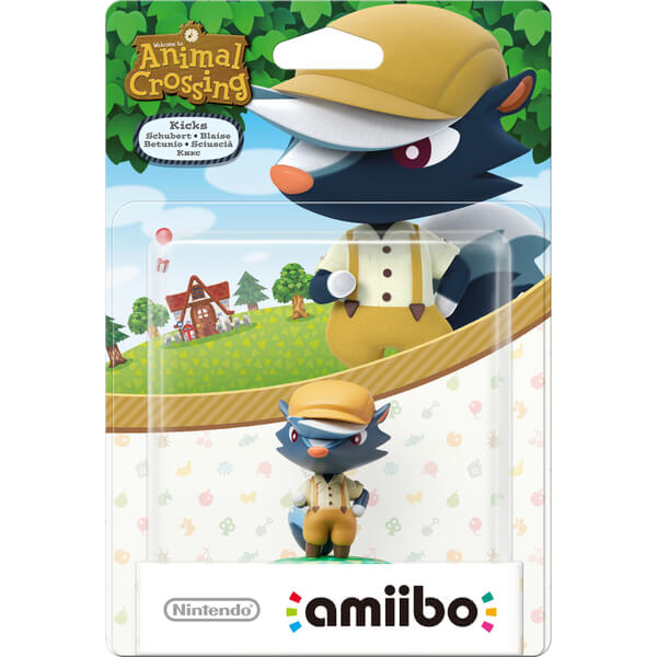 Kicks amiibo (Animal Crossing Collection)