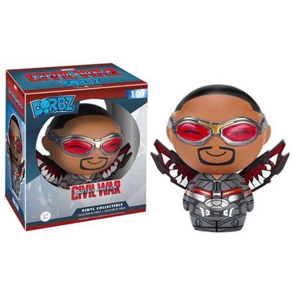 Marvel Captain America Civil War Falcon Dorbz Action Figure