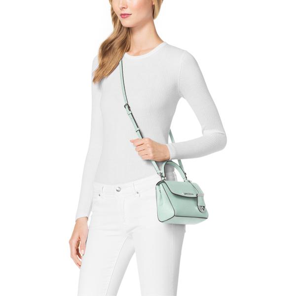de28118d880c MICHAEL MICHAEL KORS Women's Ava Small Crossbody Bag - Celadon: Image 3