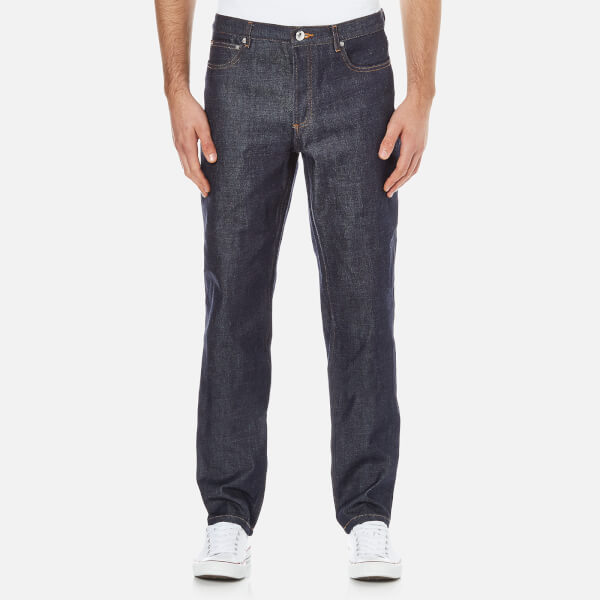 A.P.C. Men's Low Standard Jeans - Selvedge Indigo