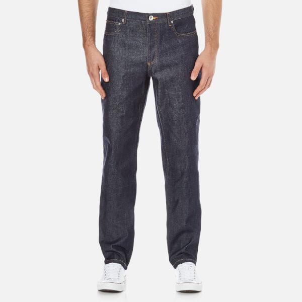 A.P.C. Men's Low Standard Jeans - Selvedge Indigo