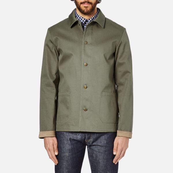 A.P.C. Men's Veste Woodstock Jacket - Khaki