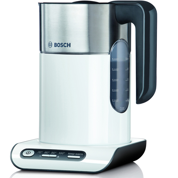 bosch twk8631gb styline collection kettle white homeware. Black Bedroom Furniture Sets. Home Design Ideas
