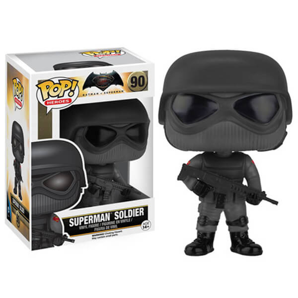 DC Comics Batman v Superman Dawn of Justice Soldier Pop! Vinyl Figure