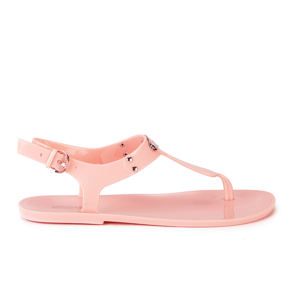 228b50f7527 MICHAEL MICHAEL KORS Women s MK Plate Jelly Sandals - Pale Pink ...