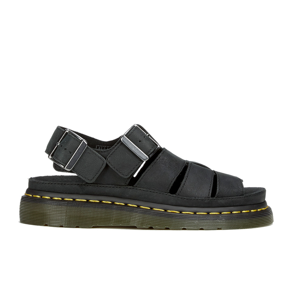 8c1c76abce8 Dr. Martens Flash Gladiator Sandals - Black Wyoming  Image 1