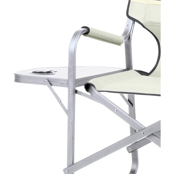 Coleman Deck Chair With Table Khaki Garden Zavvi Com