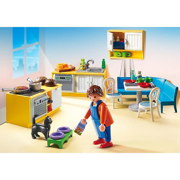 Cuisine avec coin repas -Playmobil (5336)