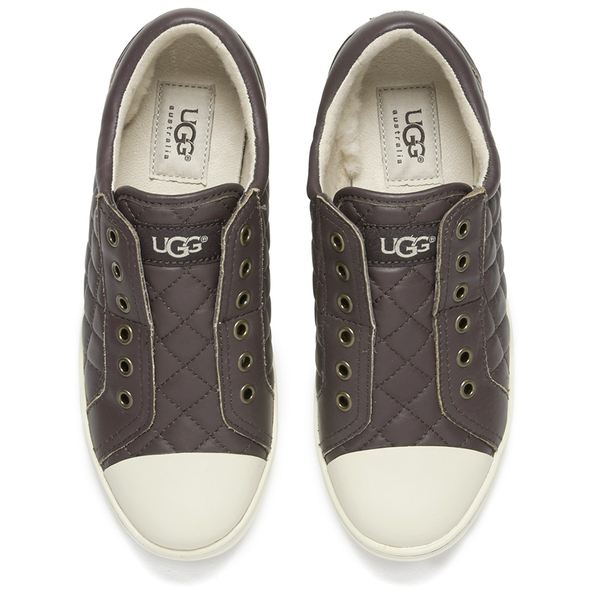 5e8c597343 UGG Women s Jemma Quilted Trainers - Espresso Womens Footwear ...